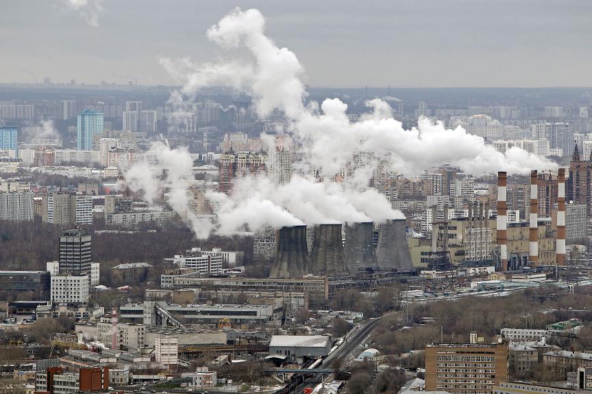 Уровень загрязнения воздуха (и экологии в целом) по районам Москвы